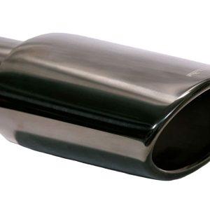 black chrome muffler