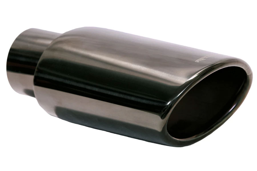 black chrome muffler