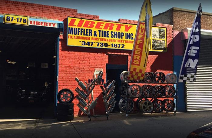 liberty muffler tire shop